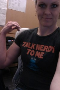 """Talk Nerdy To Me"" shirt"