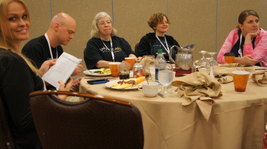 2013 ThatConference: Breakfast with @BrentSchooley @mjcichelli @scichelli @cheyennejclark